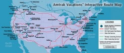 Amtrak Map