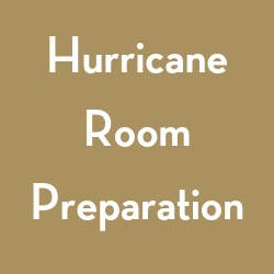 Link to instructions for preparing your room in the event of a hurricane