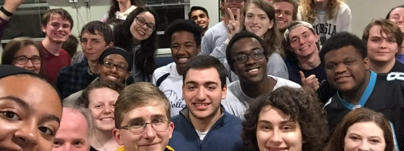 Our Honors LLC students always have a great time together!