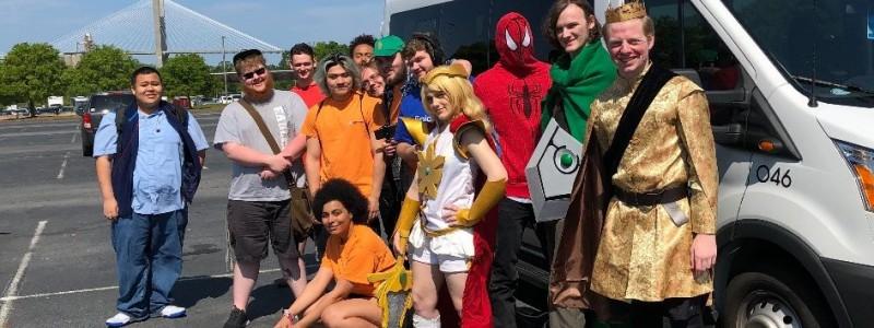 Geektopia TC Students taking over the Savannah Comic-Con!